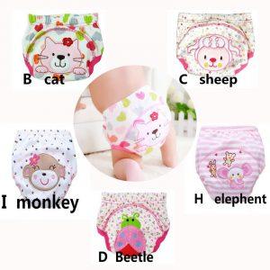 Couches lavables en coton 10 à 14KG   Pantalons d'entraînement pour bébé, couches réutilisables en coton, couches imperméables, couches lavables, pantalon d'apprentissage en bambou