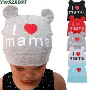 Nouveau printemps automne bébé chapeau mignon oreille coton filles casquette écharpe infantile chapeaux doigt amour enfants garçons bonnet tricoté hiver enfants chapeau