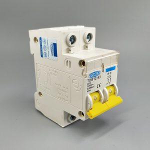 Disjoncteur de Circuit 2P DC 600V | MCB C courbe, pôle simple, courant direct pour PV