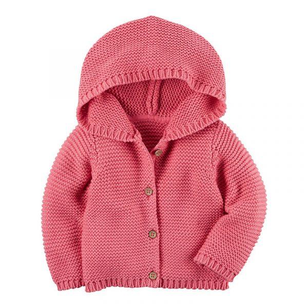 Manteau de chandail pour nouveau-nés | Cardigans d'automne et d'hiver, vêtements en tricot chaud, pour bébés garçons filles