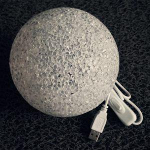 Lampe en plastique de méditation Brainwave accessoires de dispositif de vague de cerveau lumière magique pour l'entraînement mental