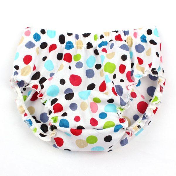 Couvre-couche en coton pour bébés filles | 3 couleurs, à volants, à pois, vêtements pour garçons, YC036