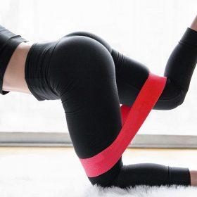 Bandes de résistance élastique entraînement Fitness équipement de gymnastique boucles en caoutchouc Latex Yoga gymnastique musculation athlétique bandes de caoutchouc