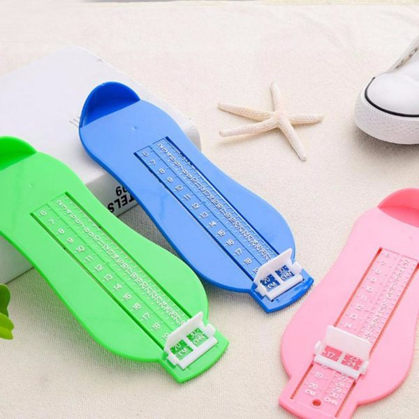 Jauge de mesure de pied pour enfant | 5 couleurs, chaussures de mesure de taille règle de mesure, ABS bébé voiture à distance réglable 0-20cm