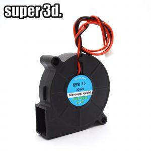 5015/4010/4020 12V & 24V refroidissement Turbo ventilateur Brushless 3D imprimante pièces 2Pin pour extrudeuse DC refroidisseur ventilateur partie noir en plastique ventilateurs