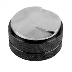Expresso 58Mm distributeur de café niveleur outil Macaron café inviolable à trois pentes coudées-noir