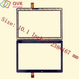Écran tactile noir de 10.1 pouces pour DIGMA CITI 1590 3G CS1207MG pièces de rechange de réparation de panneau d'écran tactile capacitif