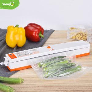 SaengQ électrique scellant sous vide Machine d'emballage pour la cuisine à la maison, y compris 15 pièces