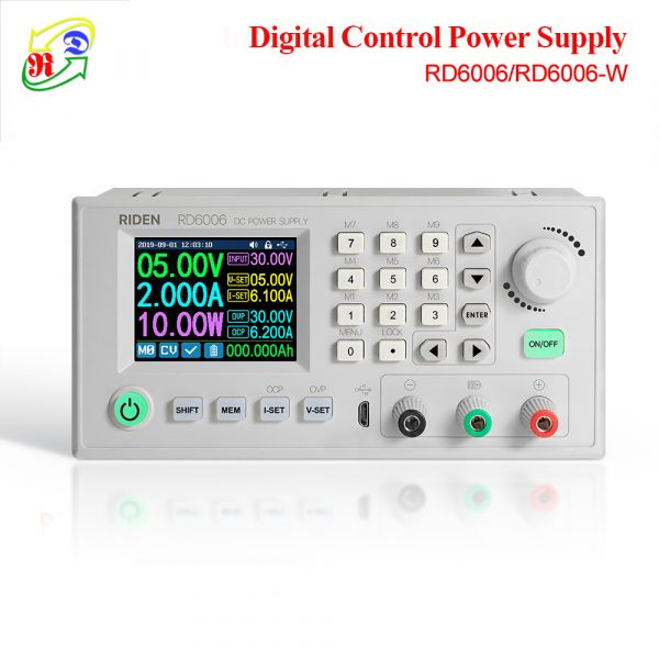 RD RD6006 RD6006W USB WiFi DC - DC Voltage current Step-down Power Supply module buck Voltage converter voltmeter 60V 6A aaa