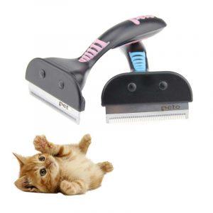 Peigne à poils pour chiens chats | Brosse pour animaux domestiques, chien chat, outil de toilettage, peigne à épilation pour chiens et chats