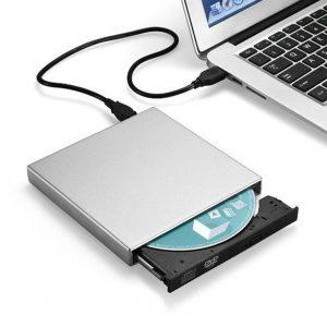 Lecteur dvd Externe USB 2.0 lecteur DVD combiné Externe CD-RW brûleur pour ordinateur portable ordinateur de bureau