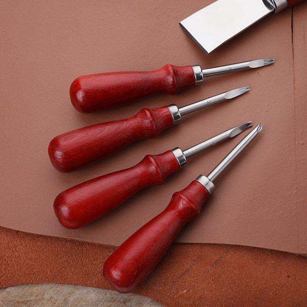 Outils de coupe pour le cuir | 0.8mm 1mm 1.2mm 1.5mm