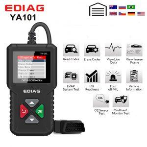 Ediag YA101 OBDII/EOBD Code Reader USB free update Auto OBD2 Scanner Tool Support graph datastream PK Cr319 AD310 elm327 CR3001
