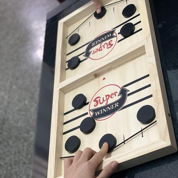 2020 nouveau jeu Slingpuck Montessori jouets conseil pour adulte livraison gratuite Parent-enfant interactif échiquier baby-foot jeu jouet