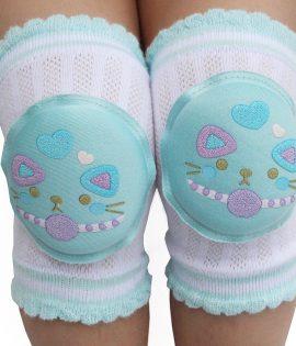Enfants antidérapant rampant coude nourrissons en bas âge bébé accessoires protecteur sécurité genouillère jambières filles garçons été genouillères