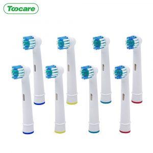 Tête de brosse à dents de remplacement pour Oral b tootbrush électrique Advance/Pro santé/Triumph/3D/vitalité têtes de brosse à dents de remplacement