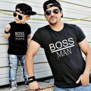 BOSS-vêtements pour hommes et BOSS | Tenue de famille, tenue assortie, pour enfants et pères et fils, vêtements d'été
