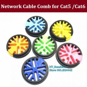 NEW Version Support 33 wires Snap-on network cable Organizing tools network cabinet computer room cable manager cable comb