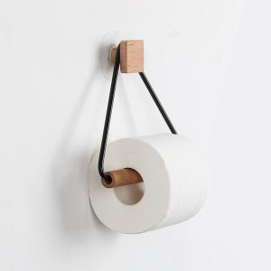 5 Styles Toilet Paper Towel Dispenser Wooden Paper Roll Holder for Bathroom Contact Paper Holder Household Storage Rack