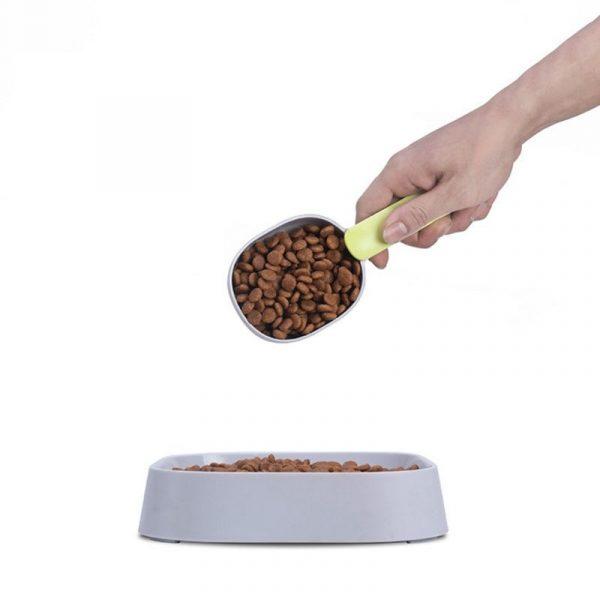 Pet Cat Dog Food Shovel Mutli-Function Feeding Scoop Spoon with Sealing Bag Clip / NO Bag Clip Creative Measuring Cup Pet Supply