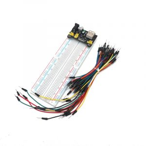 Module d'alimentation 3.3V 5V MB102, 830 points, carte de pain PCB sans soudure, Test développement 65 fils de cavalier