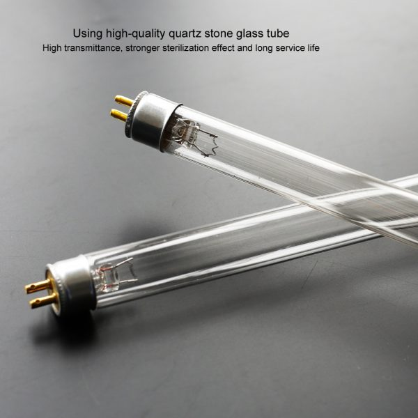Quartz Lamp UV Sterilizer Lamp 220V 110V 6W 8W T5 Tube Ozone Germicidal Light Bactericidal Ultraviolet Lamp Disinfection Deodor