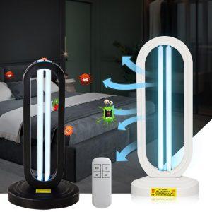 UVC Sterilization Quartz Lamps Ultraviolet UV Lights Disinfectant 185nm Ozone Sterilizer Household Lantern for Room Disinfection
