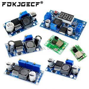Module de régulation de l'alimentation électrique, réglable, 3 A, DC-CD, LM2596, LM2596S, entrée 4 V-35 V, sortie 1,23 V-30 V, MP1584EN, MINI360