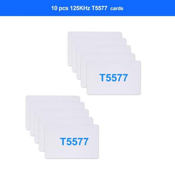 NFC Smart Card Reader Writer RFID Copier / Duplicator 125KHz 13.56MHz USB Programmer Key fobs Card ID IC EM UID EM4305 T5577 Tag