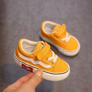 Babaya Bébé Chaussures Fond Mou Garçon Chaussures Décontractées 1-12 Ans 2021 automne Enfants Toile Chaussures Enfants Filles Chaussures de Marche Enfant En Bas Âge
