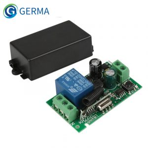 GERMA AC 250V 110V 220V 1CH 433Mhz Universal Wireless Remote Control Switch Relay Module Receiver For Garage Door Gate Motor