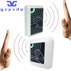 2021 New Surface Installation Contactless No Touch Infrared Lock Exit Button IR Door Release Switch