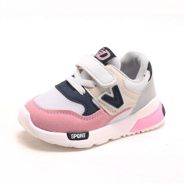Chaussures antidérapantes unisexes pour bébé fille et garçon, baskets décontractées respirantes, douces, pour le sport, taille 21 — 30, collection printemps automne