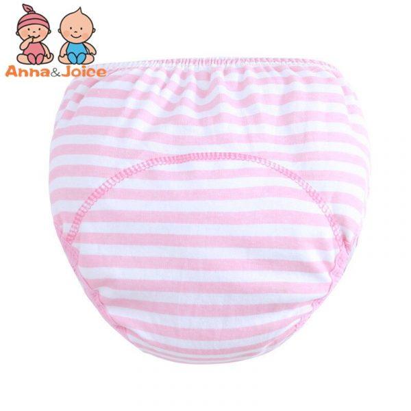 3 Couches pantalon bébé, formation/apprentissage du pot, 6 pièces/lot,culotte infantile, short sous-vêtements garçon fille en coton,