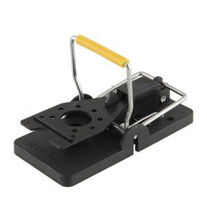 Piège à souris réutilisable de haute qualité, 1 pièce/2 pièces, piège à souris, appât à pression, lutte antiparasitaire à ressort