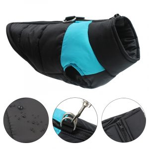 Waterproof Dog Clothes for Small Dogs Winter Warm Pet Dog Coat Large Dog Clothes Puppy Pug Vest French Bulldog Chihuahua Jacket