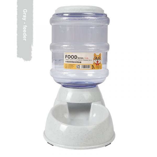 3.8L Plastic Dog Water Bottle Pet Cat Dog Feeder Drinking Bowl For Dogs Automatic Dispenser Cat Drinker Water Bowl Dog Products
