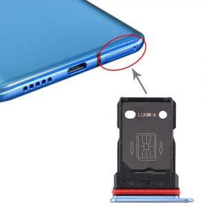 Plateau pour carte SIM + plateau pour carte SIM OnePlus 7T (les deux sont des emplacements pour cartes nano-sim)