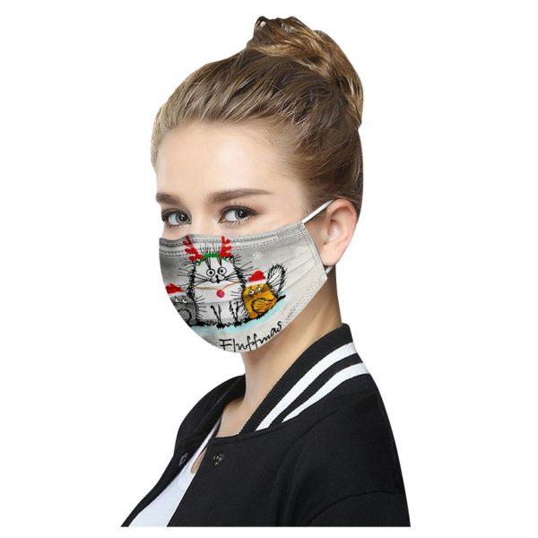 50PCS Adults Disposable Unisex Printed Christmas Masks 3-layer Masks 100pcs Mascara Facial Protectora Bandana mascarillas маски