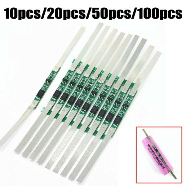 Panneau de Protection BMS 3A pour batterie Lithium-ion 1S 100 V 3.7, 10/20/18650 pièces, neuf et de haute qualité
