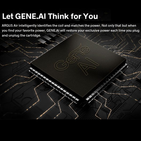 VOOPOO Argus – Kit Air Pod Original 25W, batterie 900mAh, cartouche 3.8ml, GENE.AI Chip, système de cigarettes électroniques, type-c, Charge 0.54 OLED