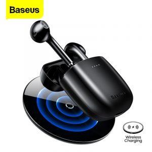 Baseus – écouteurs sans fil Bluetooth W04 Pro TWS, oreillettes de Sport, casque d'écoute pour Huawei Xiaomi