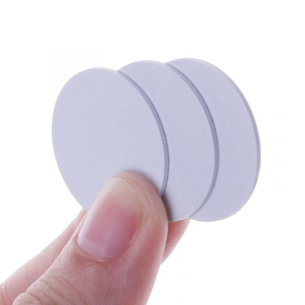 10PCS Ntag215 NFC Tags Phone Available Adhesive Labels RFID Tag 25mm Coin Holder Capsules Box Storage Clear Round Display Cases