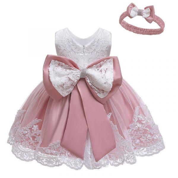 Robe princesse à fleurs pour filles, tenue élégante à paillettes, pour fête de mariage, 2021