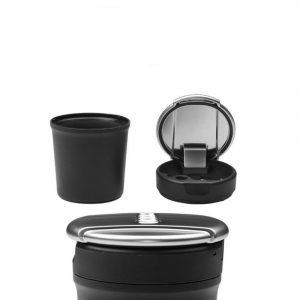 Car original ashtray storage box chrome trash can for Audi A3 A4L A5 A7 Q3 Q5L A6L A8L Special Car ashtray Interior Accessories