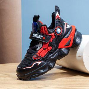 MWY – baskets en cuir pour enfants, chaussures de sport, légères, imperméables, pour garçons et filles