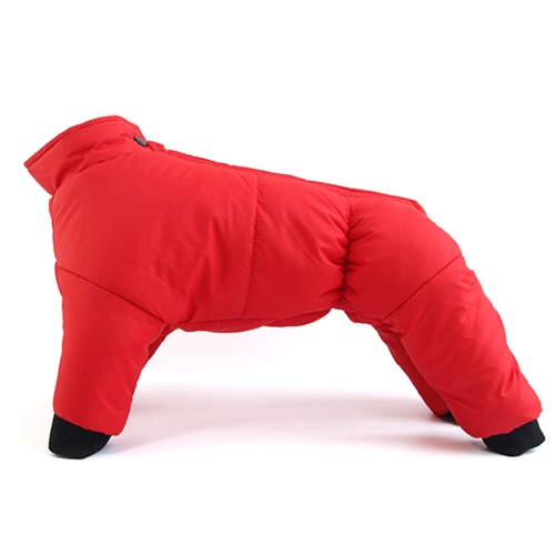 Dog Winter Coat Coats Warm Clothes Small Puppy Clothing For French Bulldog Dogs Pets Waterproof Suit XXL Pet Jackets Snowsuit