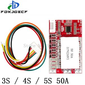 Batterie en lithium avec protection, 3S, 4S, 5S, 50A, BMS, board/ 55A 3.7V, board/3.2V fer phosphate/LiFePO4, équilibre