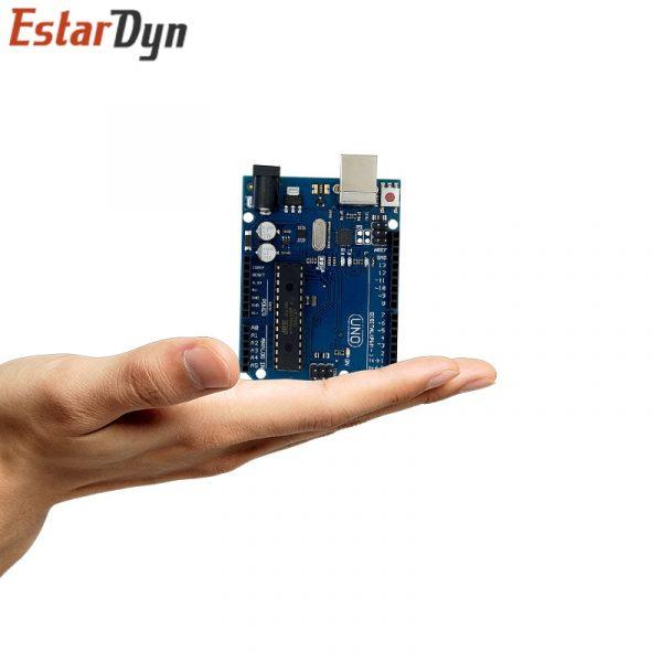 UNO R3 – carte de développement avec câble USB, Kit de démarrage à monter soi-même