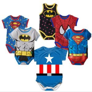 Barboteuse 100% coton pour nouveau-né, vêtement d'été pour bébé fille et garçon, barboteuse dessin animé, à manches courtes